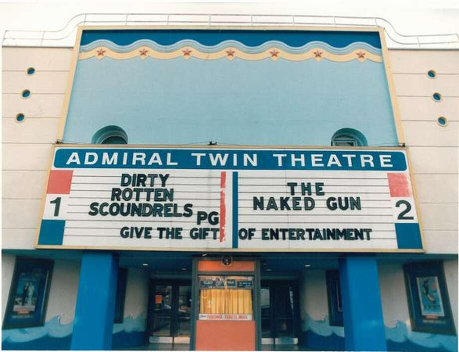 The Admiral Twin Theatre in West Seattle, Jan. 26, 1989. Photo: P-I File
