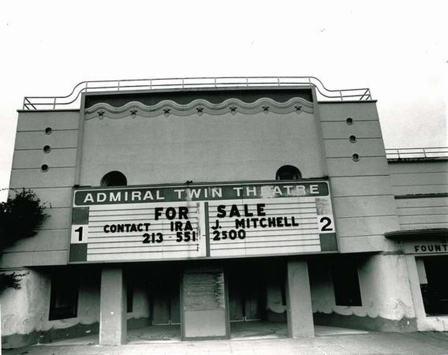 The Admiral Twin Theatre's new owner in 1971 wanted to restore the theater for live entertainment. Photo: P-I File