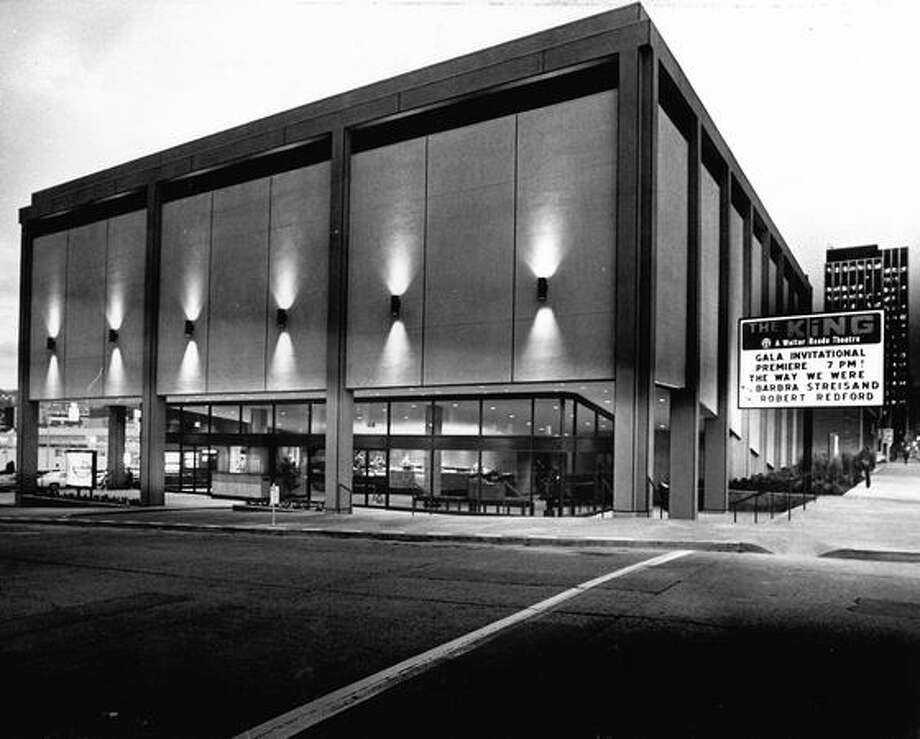 The King Cinema on Oct. 29, 1973. The building is now the King Cat Theater. Photo: P-I File