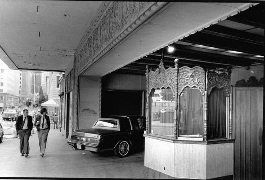 When this photo was taken on June 7, 1988, the Music Hall Theater was slated for demolition.