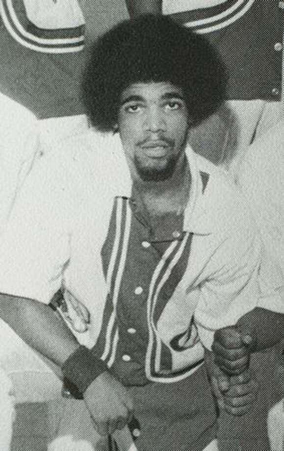 Garfield High School basketball player JoJo Rodriguez, 1975. Photo: P-I File