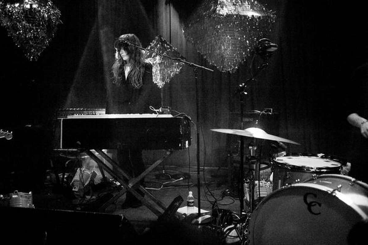 Beach House performing at Neumos on April 12, 2010. ÿÛ