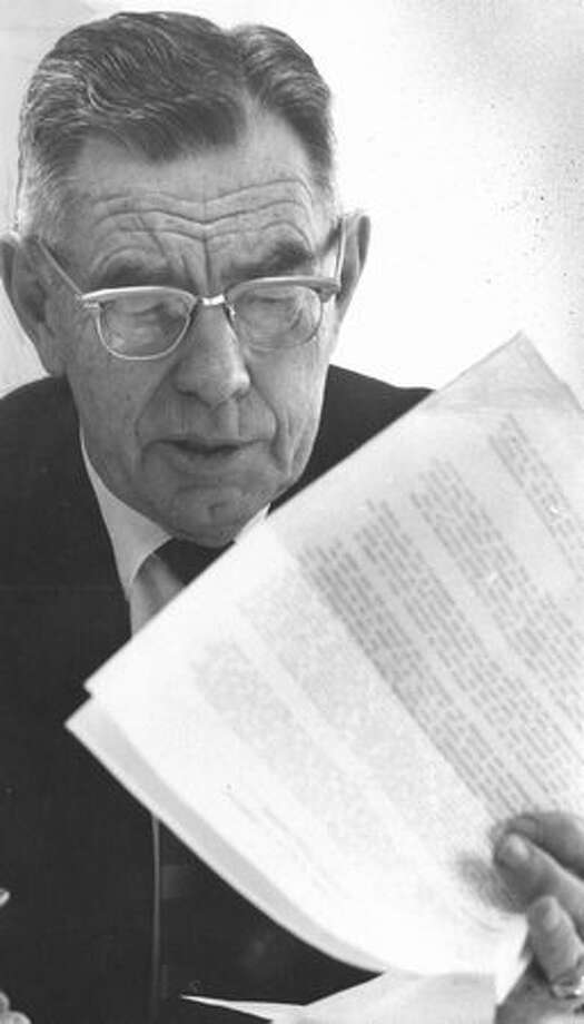 Ralph H. Rehbock, head Roosevelt counselor, Jan. 11, 1966. Photo: P-I File
