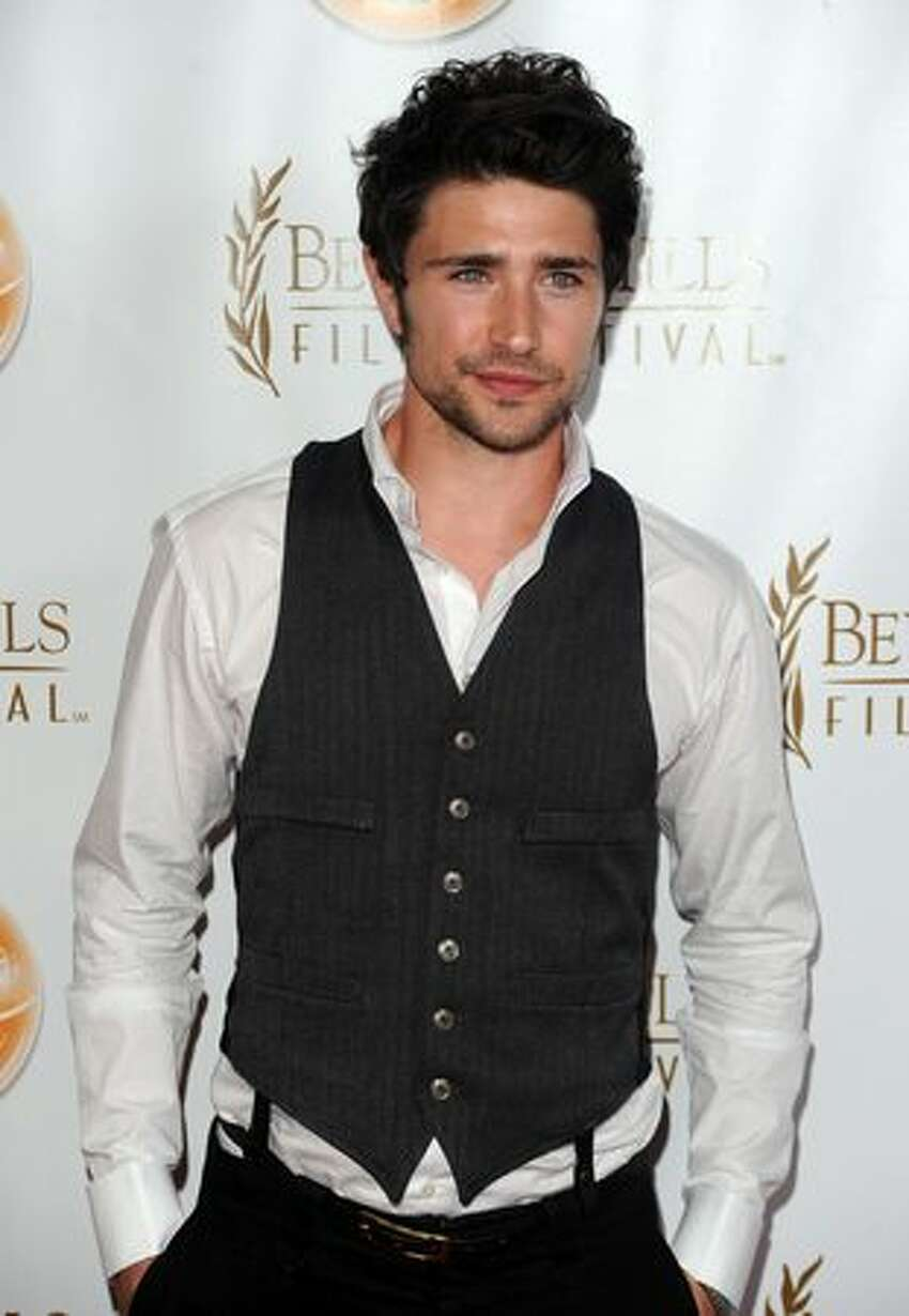 Actor Matt Dallas arrives at the 10th Annual Beverly Hills Film Festival Opening Night at the Clarity Theater on Wednesday in Beverly Hills, California.