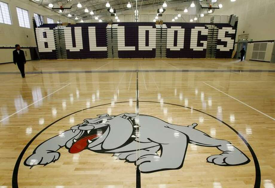 Garfield in 2008, with brand-new gym. The school underwent a $107.4 million renovation between 2006 and 2008.  Photo: P-I File