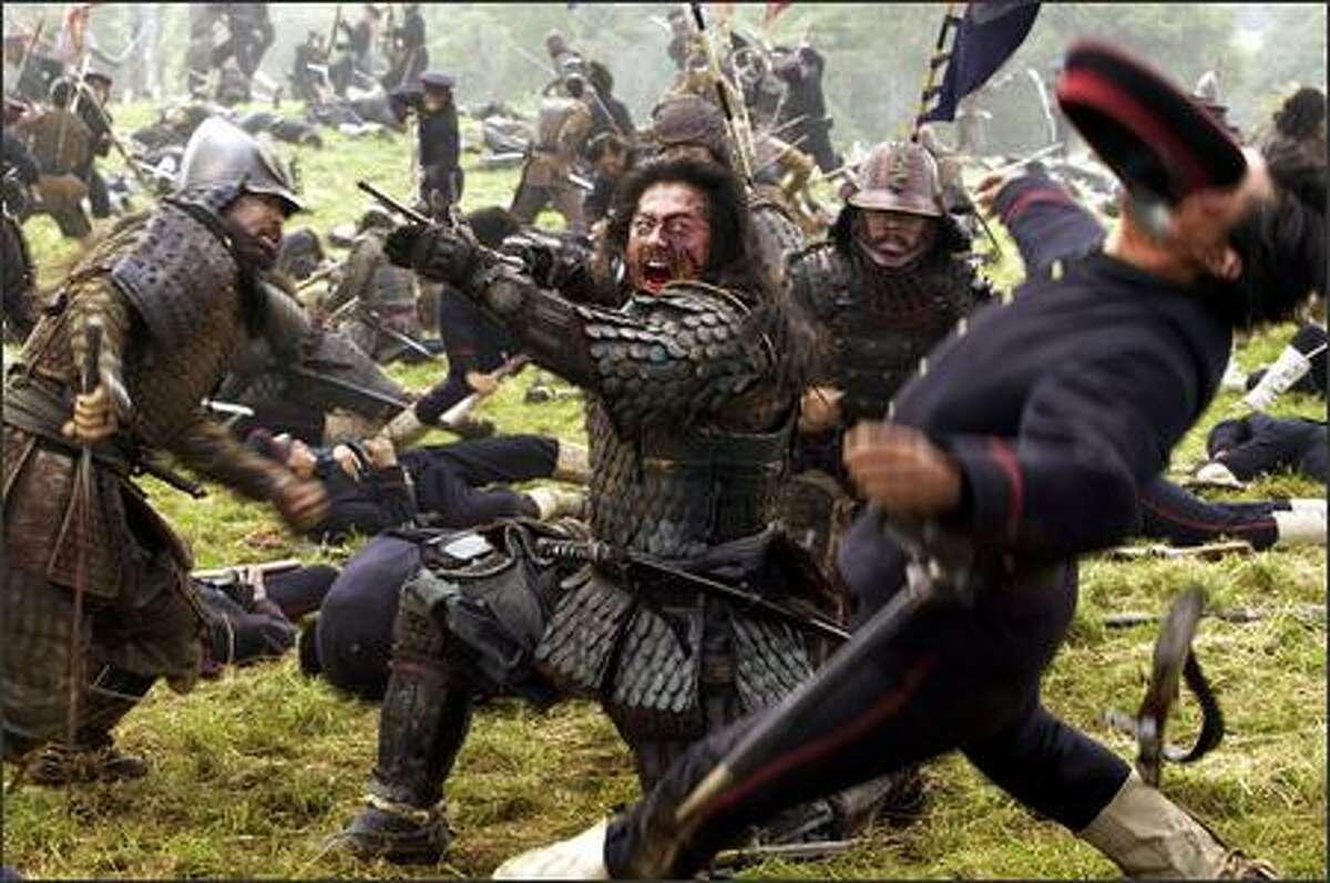 "Hiroyuki Sanada stars in ""The Last Samurai,"" which opens Friday."