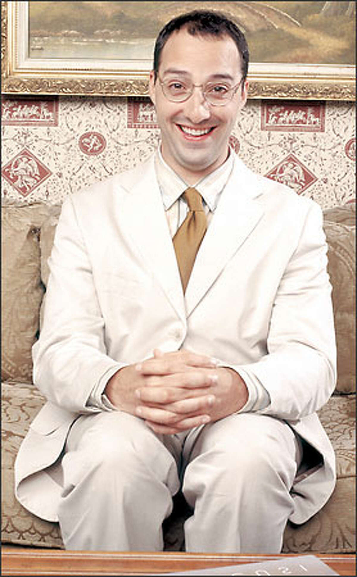 Tony Hale plays Buster Bluth.