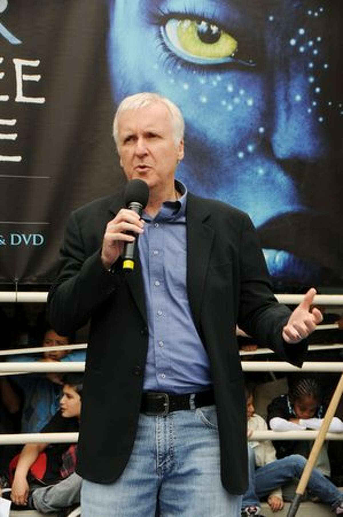 Director James Cameron attends the 20th Century Fox & Earth Day Network's