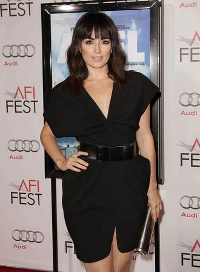 "Actress Ana de la Reguera arrives at ""Abel"" screening during AFI FEST 2010 presented by Audi at Grauman's Chinese Theatre in Hollywood, California. Photo: Getty Images"