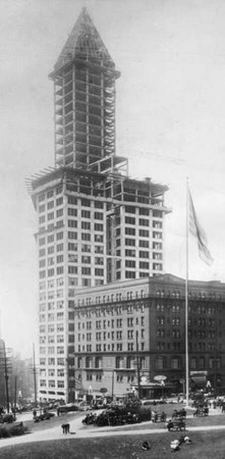 The Smith Tower, exact date unknown. Photo: P-I File / P-I File