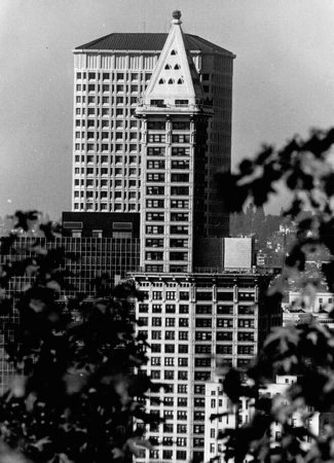 The Smith Tower, Oct. 18, 1976. Photo: P-I File / P-I File