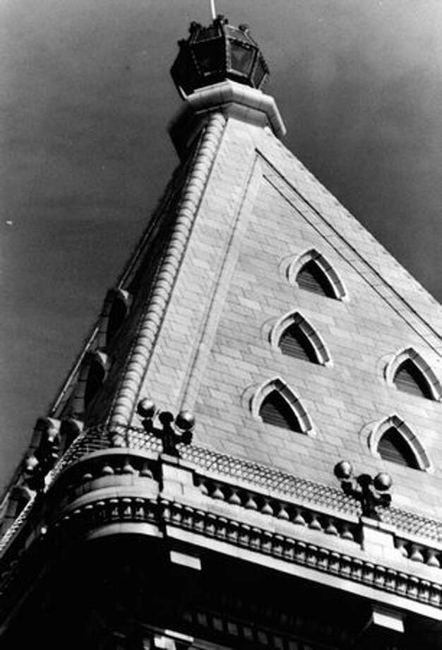 The top of the Smith Tower, Sept. 6, 1971. Photo: P-I File / P-I File