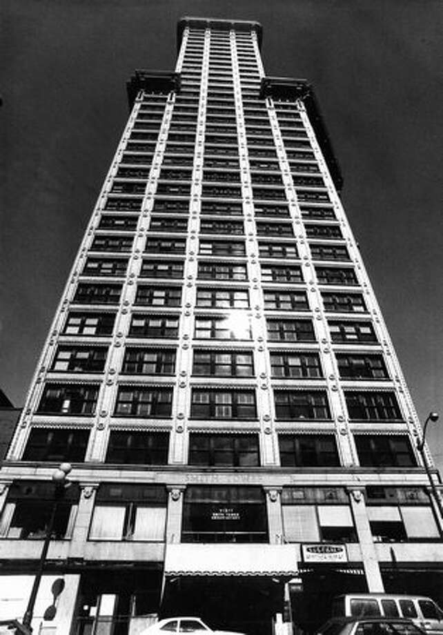 The Smith Tower, once owned by Ivar Haglund, was sold in 1985 to a group of investors from San Francisco. It's shown here in 1978. Photo: P-I File / P-I File