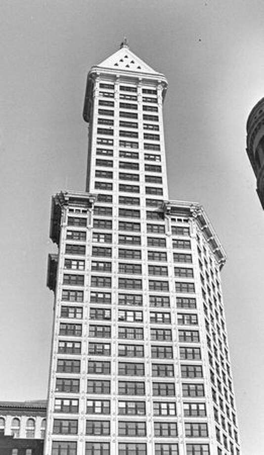 Ivar Haglund, owner of the Smith Tower, suggested in 1982 that it would make a great city hall. Photo: P-I File / P-I File