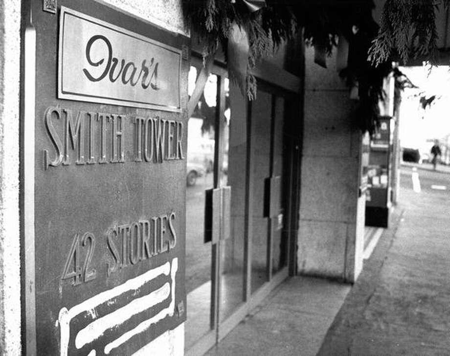 The Smith Tower, Jan. 9, 1977. Photo: P-I File / P-I File