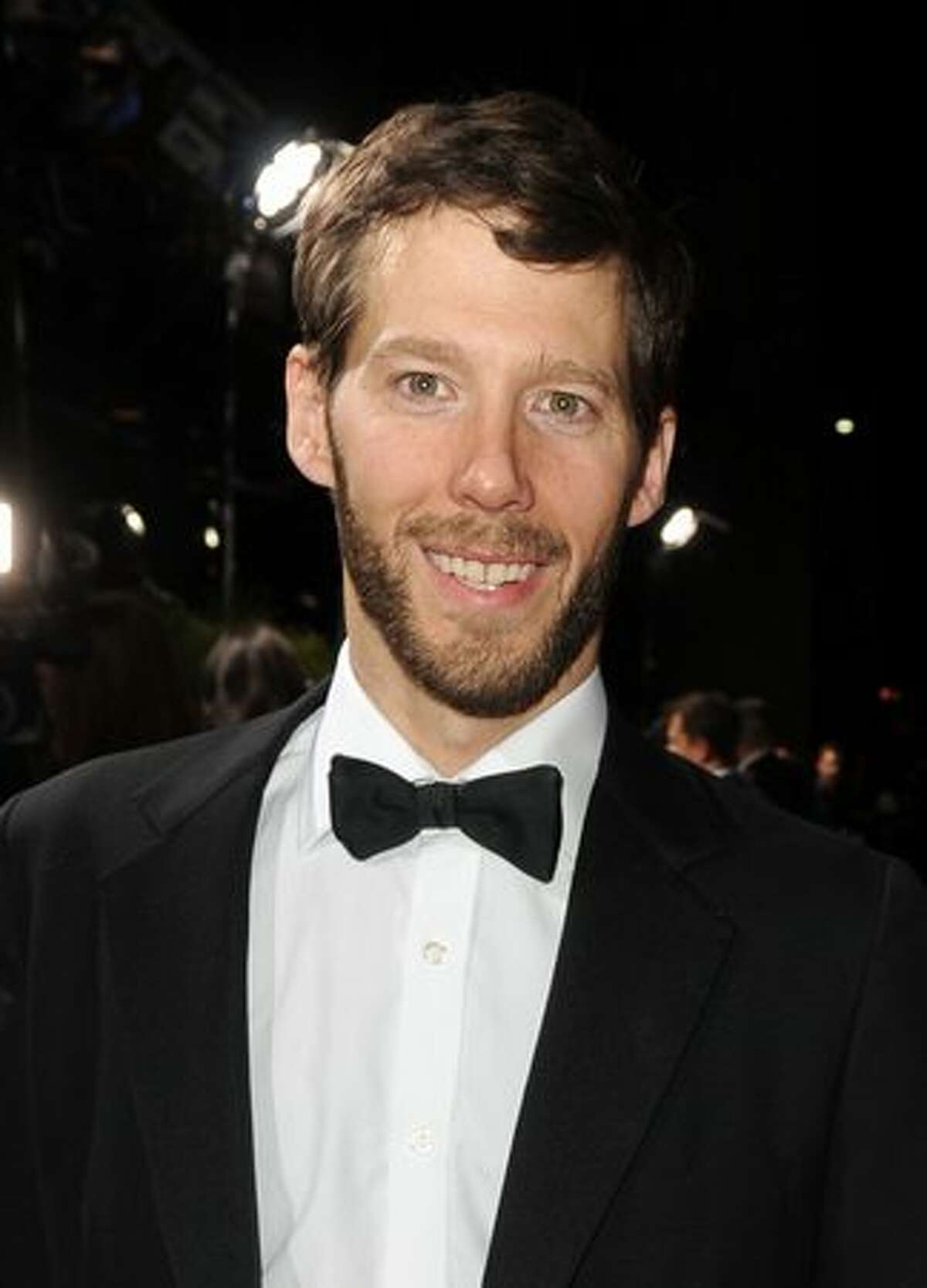 Author Aron Ralston arrives at the premiere of Fox Searchlight Pictures'