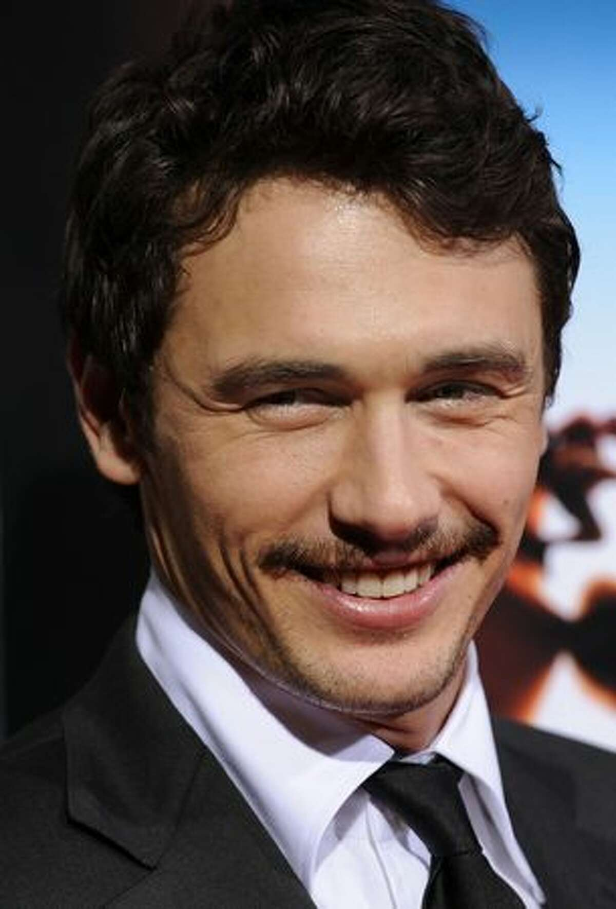 Actor James Franco arrives at the premiere of