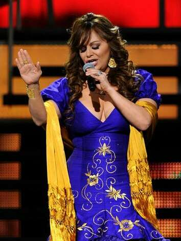 Singer Jenni Rivera performs onstage during the 11th annual Latin GRAMMY Awards at the Mandalay Bay Events Center in Las Vegas, Nevada. Photo: Getty Images