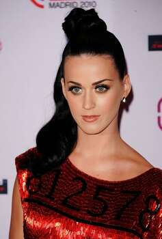 Katy Perry arrives. Photo: Getty Images