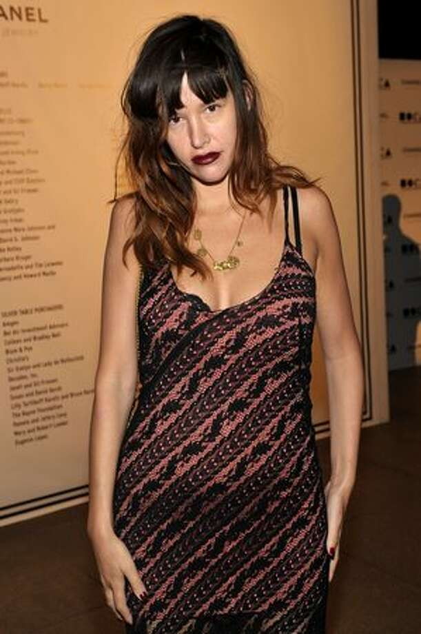 "Actress Paz de la Huerta attends ""The Artist's Museum Happening"" MOCA Los Angeles Gala cocktail reception in Los Angeles, California. Photo: Getty Images"