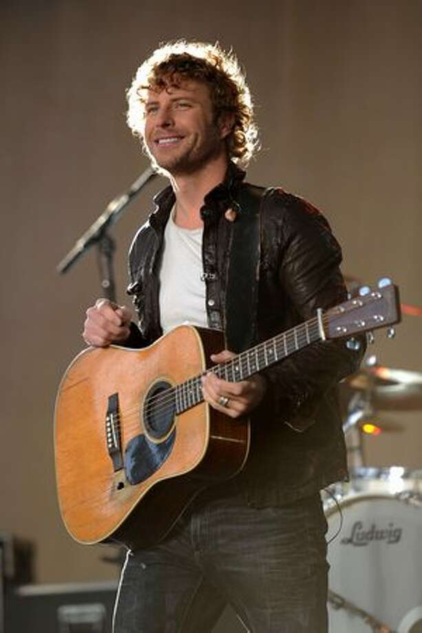 Musician Dierks Bentley performs on ABC's Good Morning America at Bridgestone Arena on Wednesday in Nashville, Tennessee. Photo: Getty Images