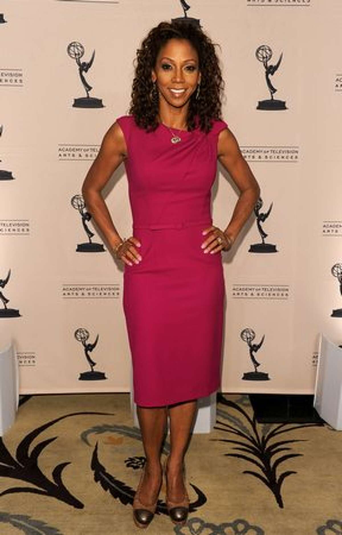 Actress Holly Robinson Peete arrives at the Academy of Television Arts & Sciences' 3rd Annual Academy Honors at the Beverly Hills Hotel on May 5, 2010 in Beverly Hills, California.