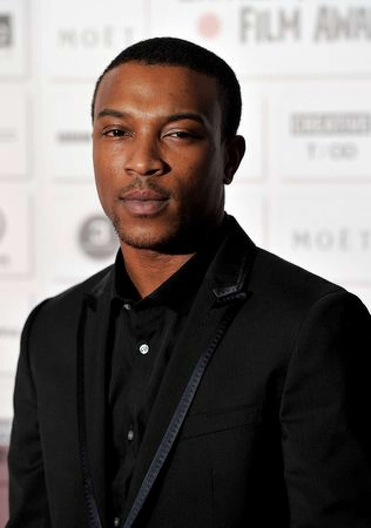 Actor Ashley Walters attends the Moet British Independent Film Awards at Old Billingsgate Market in London, England.
