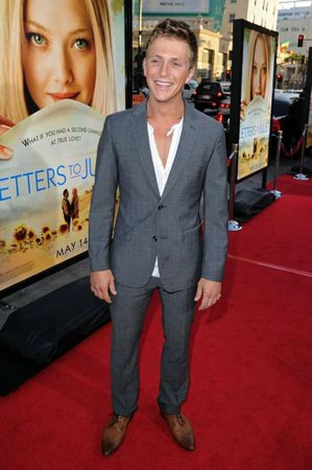 "Actor Charlie Bewley arrives at the premiere of Summit Entertainment's ""Letters To Juliet"" held at Grauman's Chinese Theatre on Tuesday, May 11 in Hollywood, California. Photo: Getty Images"