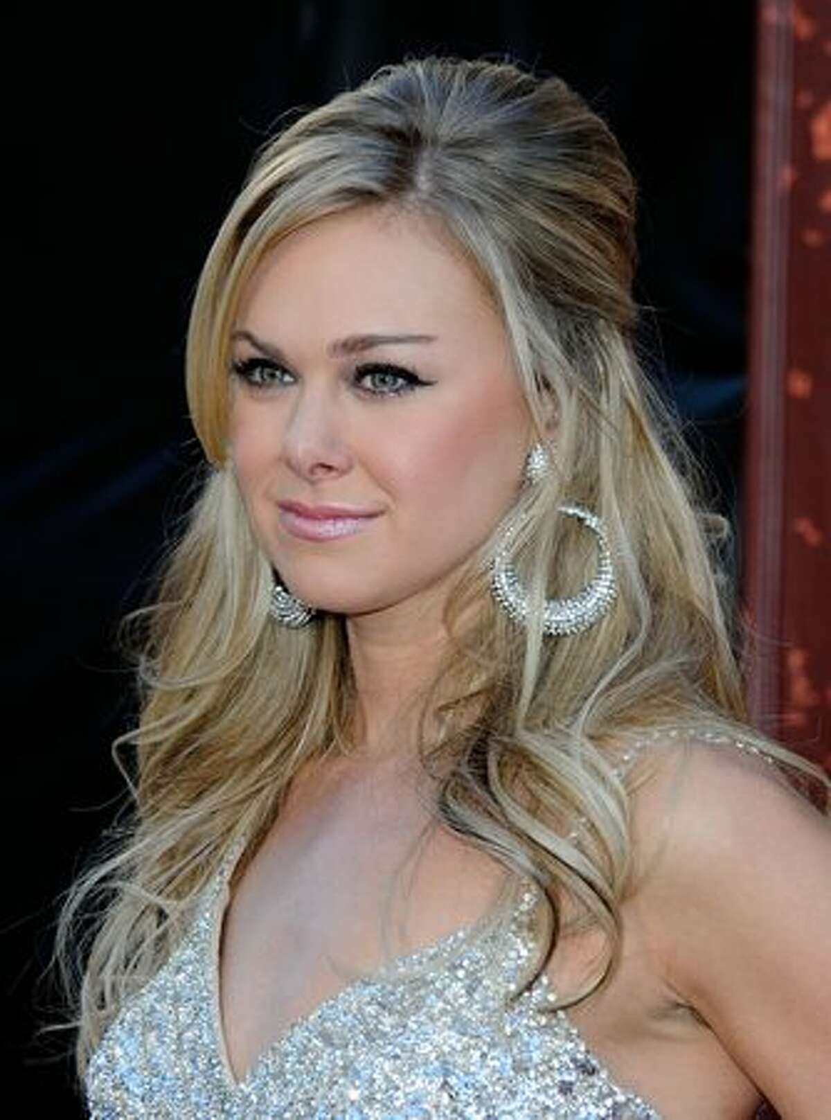 Singer Laura Bell Bundy arrives at the American Country Awards 2010 held at the MGM Grand Garden Arena in Las Vegas, Nevada.