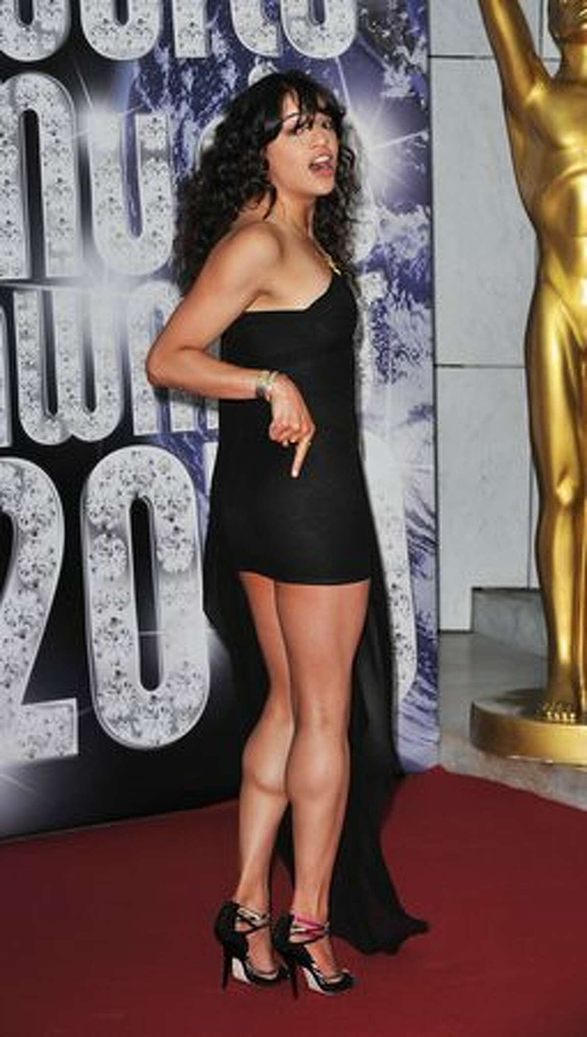 Michelle Rodriguez attends.