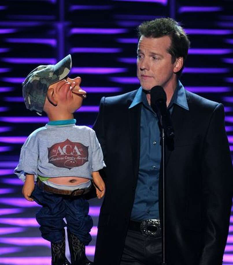 Comedian Jeff Dunham performs at 3 p.m. Sunday at the Times Union Center in Albany. Click here for more information.  Photo: Getty Images