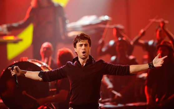 Singer Enrique Iglesias performs onstage during the 2010 American Music Awards held at Nokia Theatre L.A. Live  in Los Angeles. Photo: Getty Images