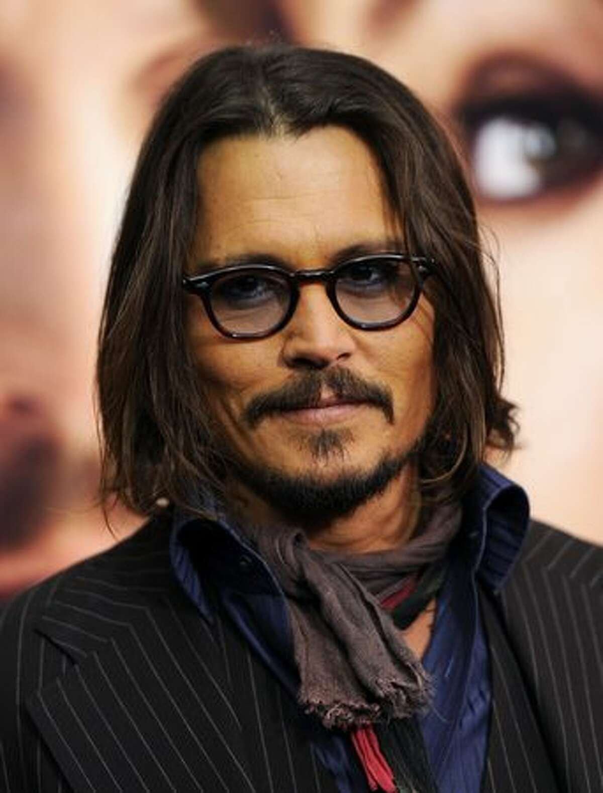 Actor Johnny Depp attends the World premiere of