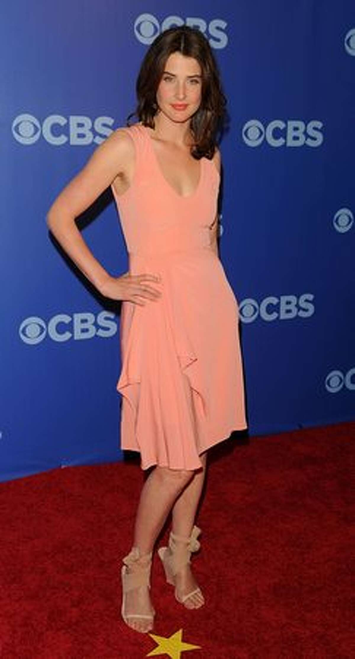 """Actress Cobie Smulders (""""How I Met Your Mother"""") attends."""
