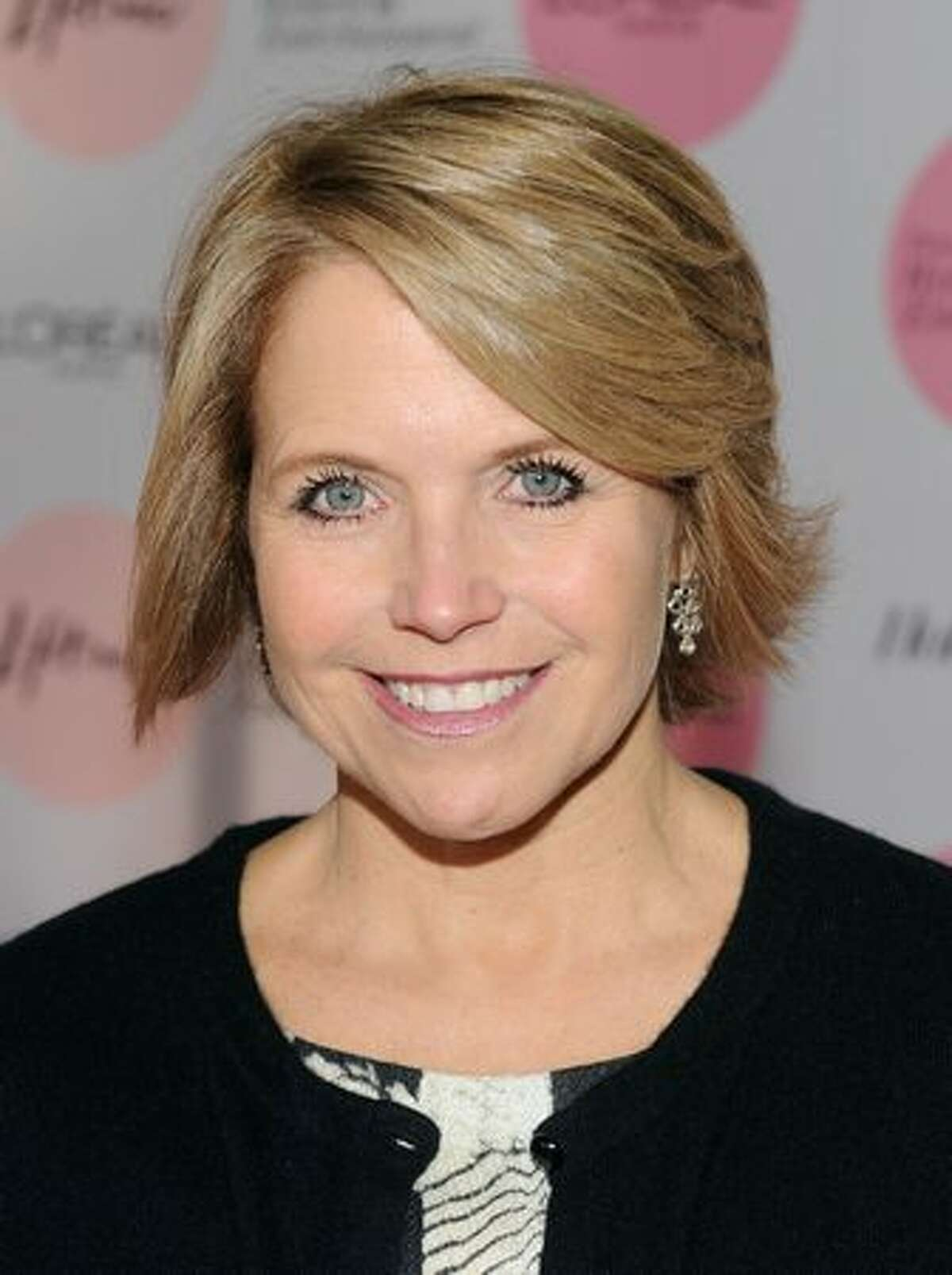 CBS Evening News anchor and managing editor Katie Couric arrive at The Hollywood Reporter's Annual