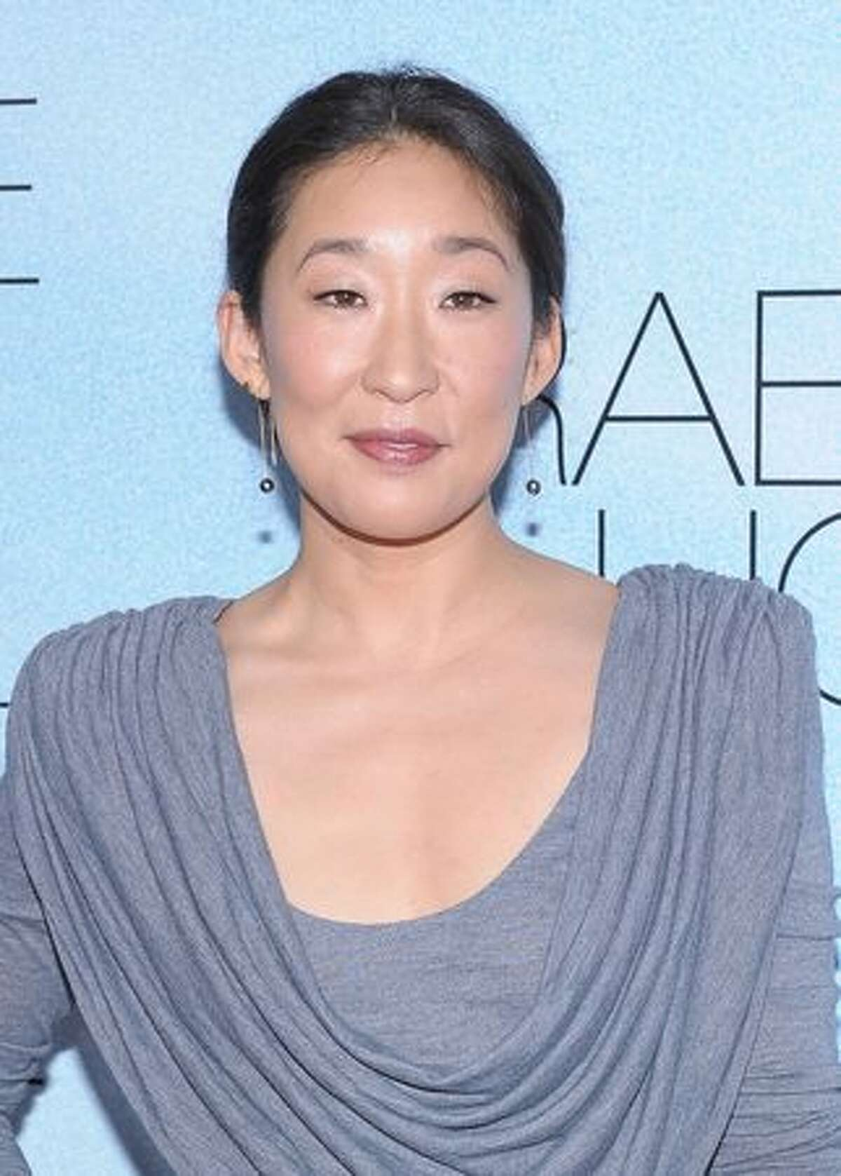Actress Sandra Oh attends the premiere of