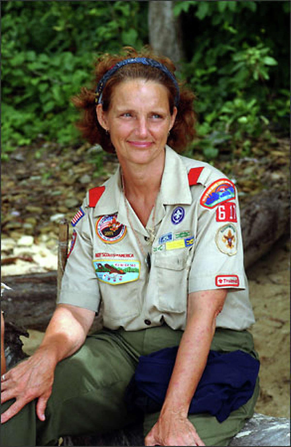 Lillian Morris of the Balboa tribe.