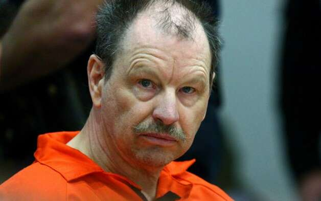 Gary Leon Ridgway, also known as the Green River Killer, sits in the courtroom of Judge Mary E. Roberts. Ridgway pleaded guilty for the 1982 killing of Rebecca 'Becky' Marrero. It was the 49th killing he has admitted to. Photo: Joshua Trujillo, Seattlepi.com