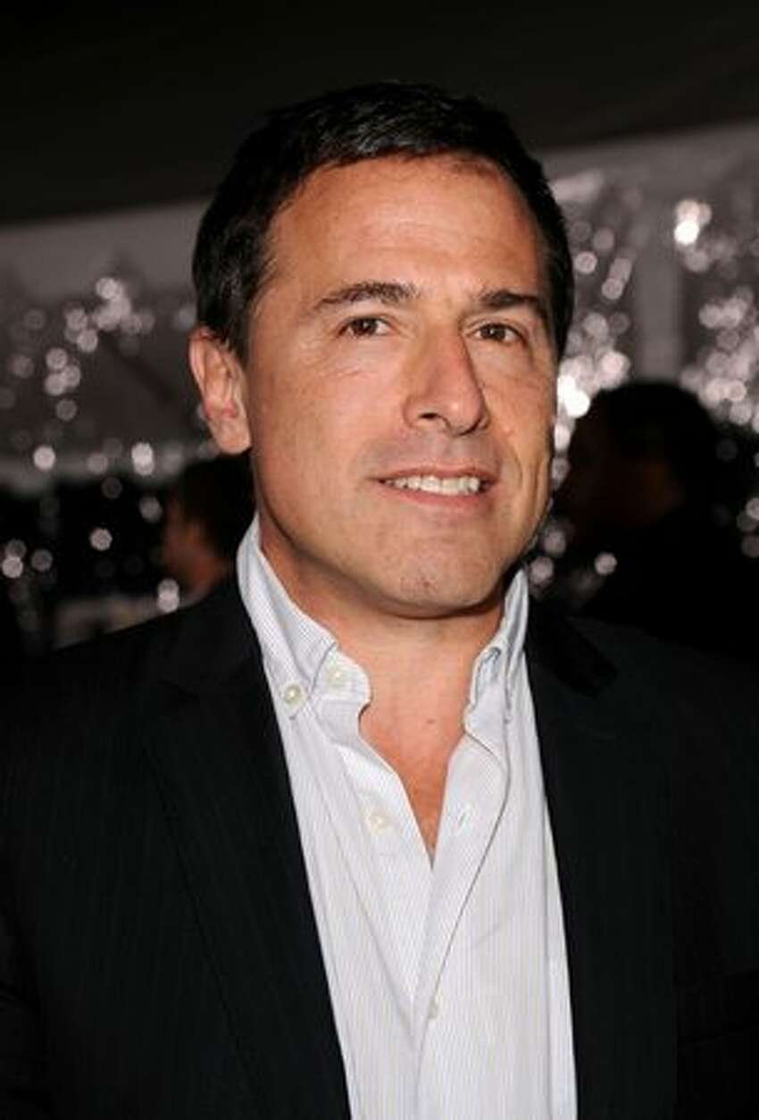 Director David O. Russell arrives at Paramount Pictures'