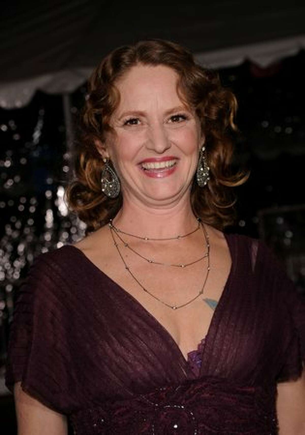 Actress Melissa Leo arrives at Paramount Pictures'