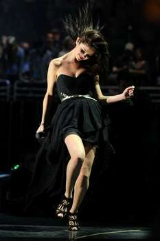 Selena Gomez performs. Photo: Getty Images