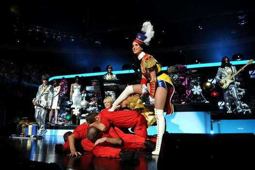 Katy Perry performs. Photo: Getty Images
