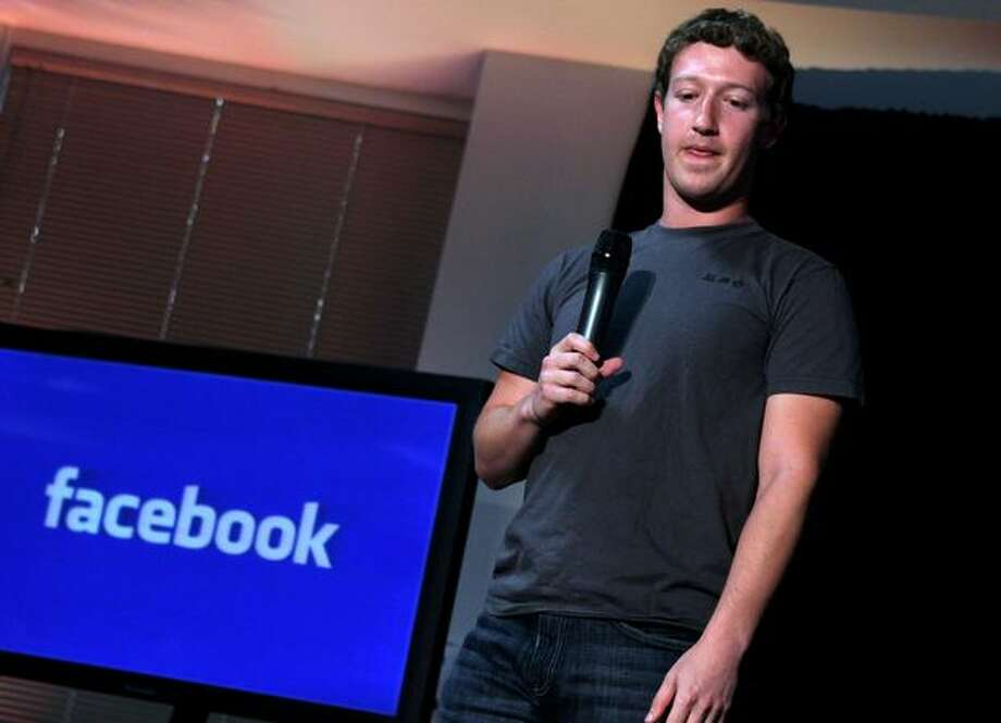 Facebook founder and CEO Mark Zuckerberg speaks at an event in August 2010. Photo: Getty Images