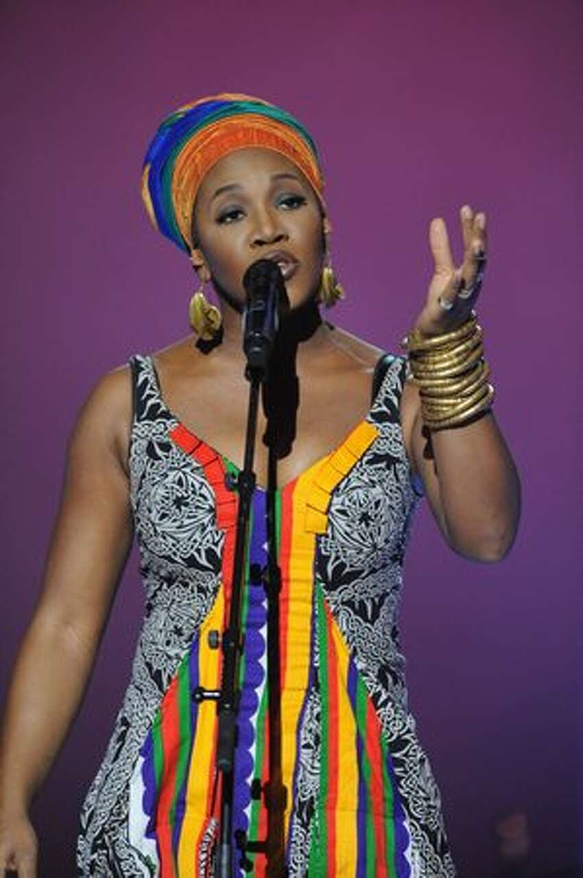 India.Arie performs.