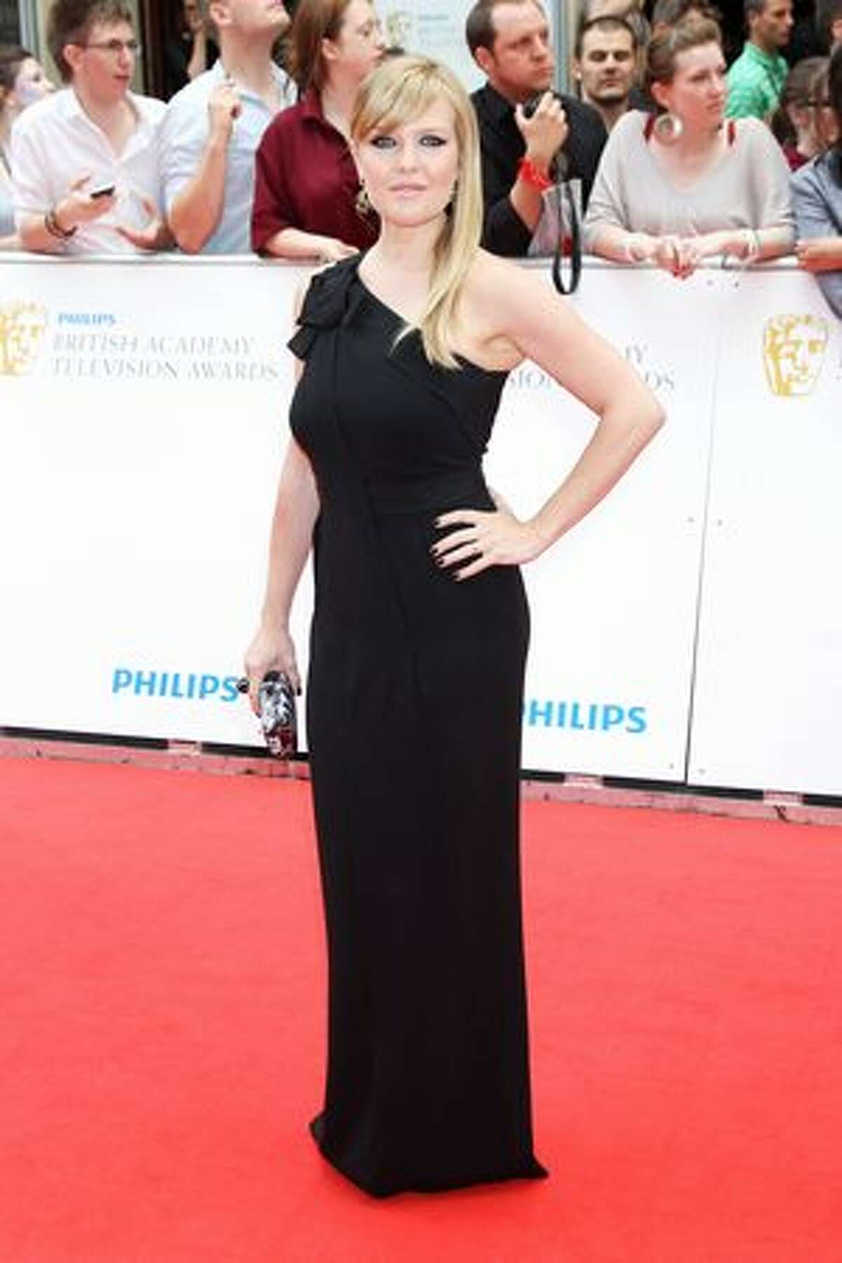 Ashley Jensen arrives at The Philips British Academy Television Awards held at The Palladium.