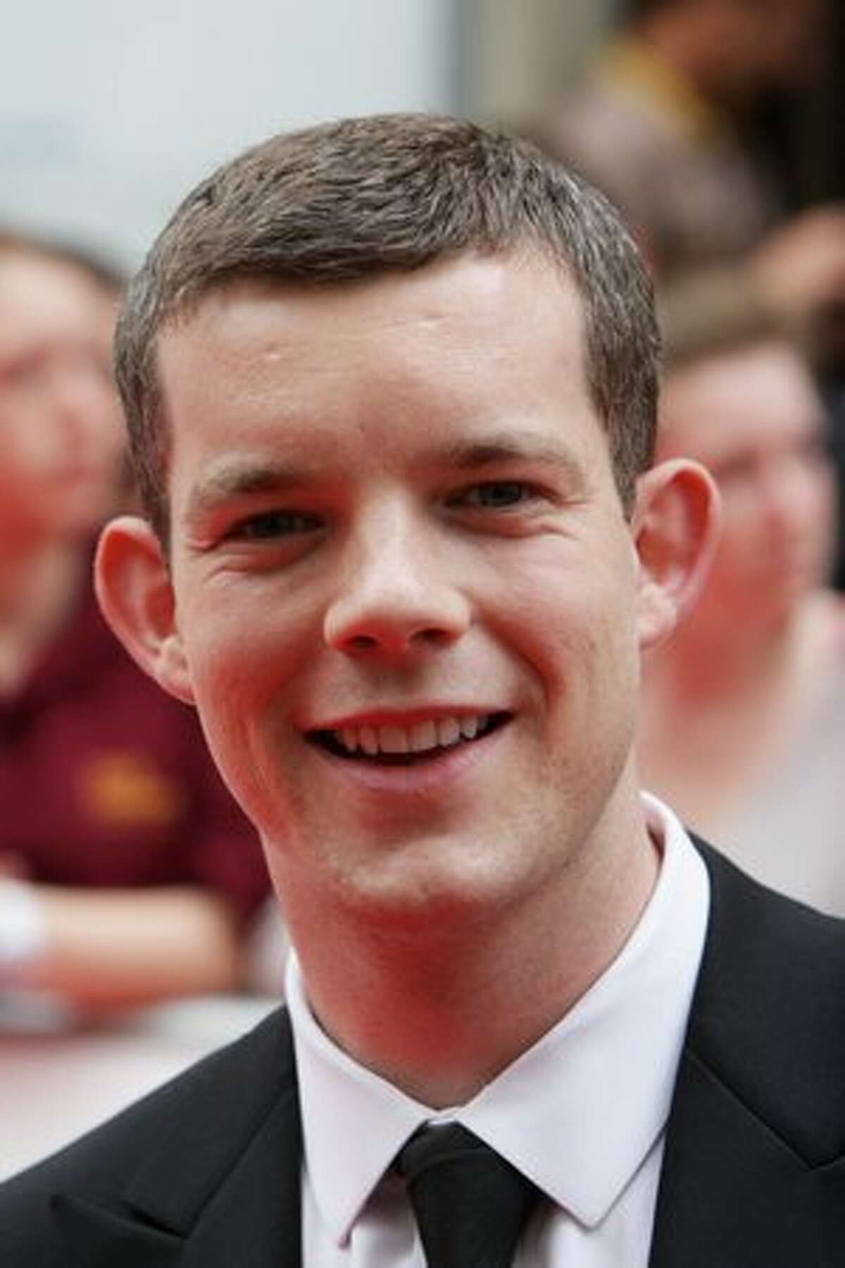 Russell Tovey arrives at The Philips British Academy Television Awards held at The Palladium.