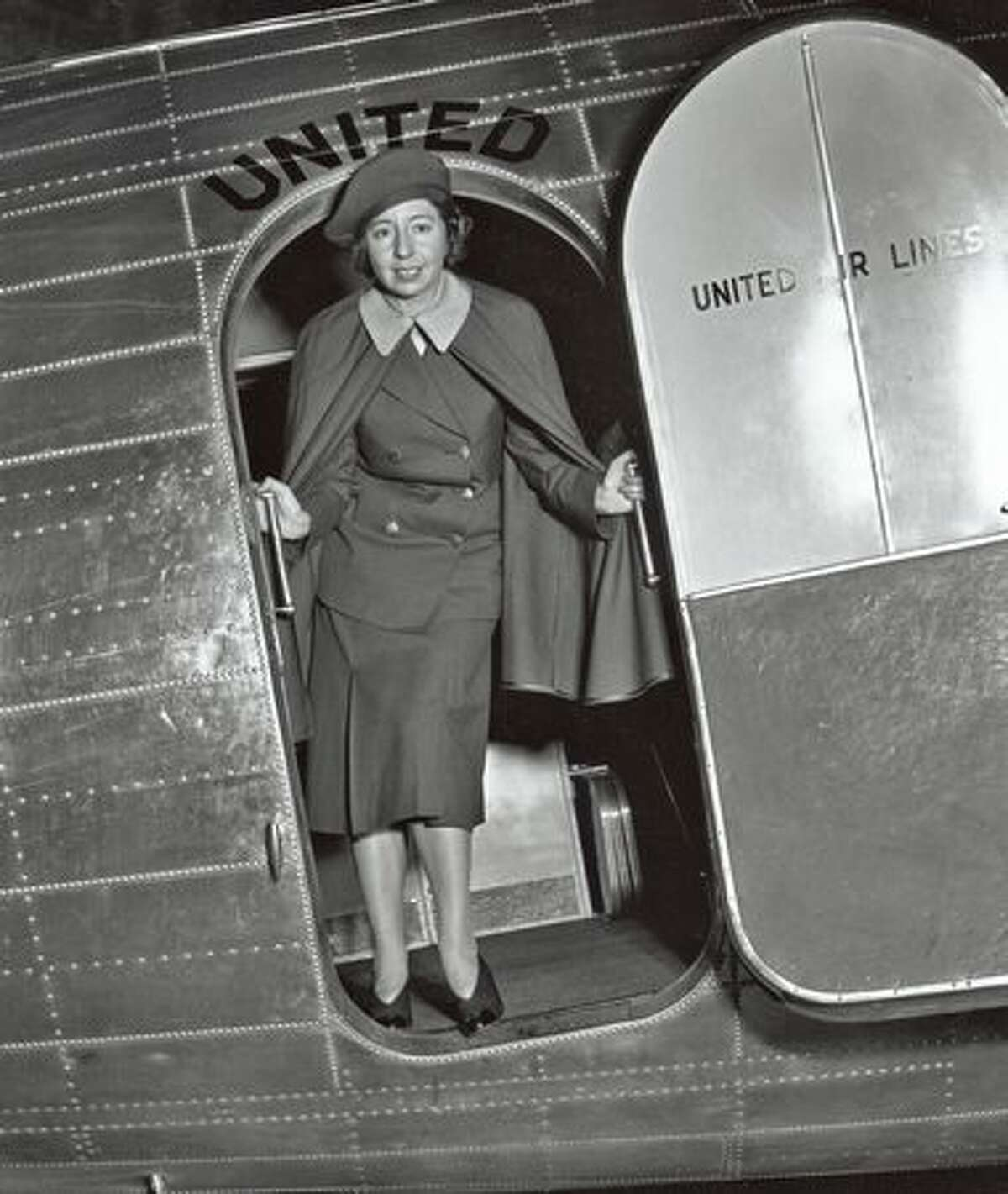 Nurse Ellen Church became the first female flight attendant in a Boeing Air Transport flight between Oakland and Chicago. (Museum of Flight/Seattle Post-Intelligencer file)