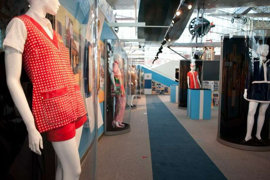 The Style in the Aisle exhibit will open this Saturday, January 29 and will showcase flight attendant uniforms from various airlines and decades. Here's more about the exhibit. Photo: Elliot Suhr, Seattlepi.com