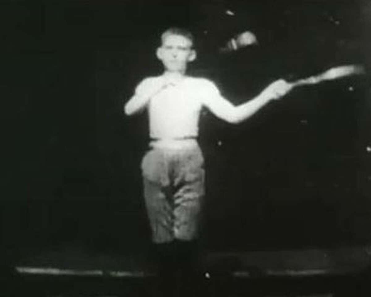 """""""Newark Athlete"""" (1891) was an experimental film made in America at the Edison Laboratory in West Orange, N.J. The filmmakers were W.K.L. Dickson and William Heise, both of whom were employed as inventors and engineers in the industrial research facility owned by Thomas Edison. Both men made important technical contributions that led to the invention of the world's first successful motion picture camera - the Edison Kinetograph - and to the playback device required for viewing early peepshow films-the Edison Kinetoscope."""