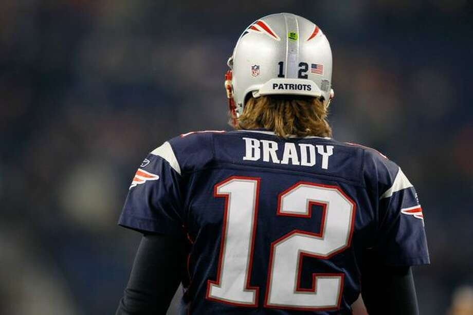 No. 5: New England Patriots quarterback Tom Brady, shown during warm-ups before a game against the Green Bay Packers on Dec. 19, 2010 at Gillette Stadium, in Foxboro, Massachusetts. Photo: Getty Images